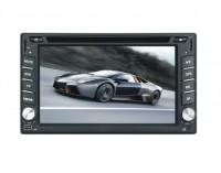 Универсална мултимедия Double Din 6.2 инча DVD, GPS, TV за кола-навигация + цифрова телевизия