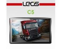 Мощна GPS навигация за камион LEOS C5 - 5 инча, 800MHZ, 256MB, 8GB