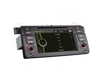 Double din навигация за BMW E46, Rover 75,  ES7246C  GPS, DVD, 7 инча