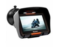 WayteQ GPS за мотоциклет, АТВ xRider 4.3 инча, 800mhz, 256 RAM, Bluetooth