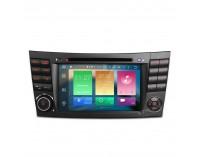 Навигация двоен дин за Mercedes W211 W219 с Android 6.0 PB76M211AP, GPS, WiFi, 7 инча