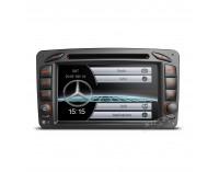 Навигация двоен дин за Mercedes W168 W203 W463 W639 PF7M203S, WinCe, GPS, 7 инча