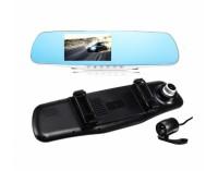 Огледало 4.3 инча + видеокамера + камера за паркиране AT K43 2CAM FULL HD