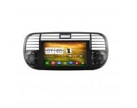 Навигация двоен дин за FIAT 500 (07-14) N FT01A с Android GPS, DVD, 6.2 инча