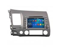 Навигация двоен дин за Honda Civic 2006-2011(Седан) N HN02A с Android GPS, DVD, 7 инча