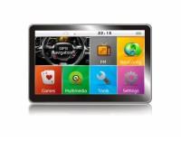 GPS навигация MEDIATEK E5 за камион 256MB RAM - 5 инча